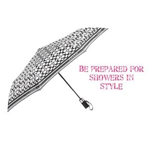 "Coach Signature 40"" Full Size Folding Umbrella"